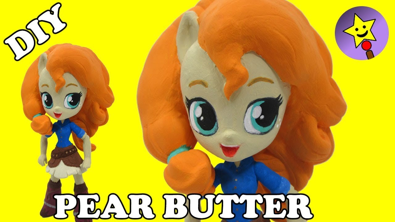 CUSTOM Pear Butter My Little Pony Equestria Girls Minis