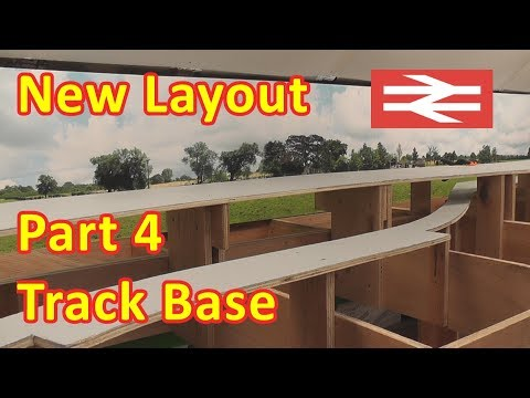 New Layout Build – Track Base