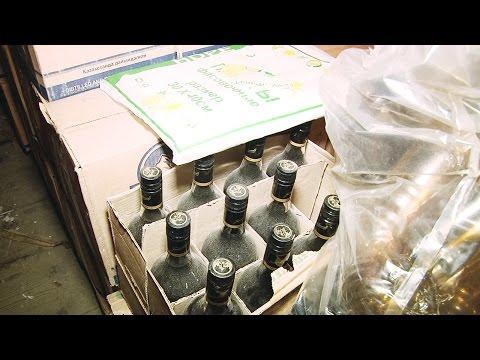 В Верхней Салде полицейские накрыли гараж с 4,5 тоннами контрафактного алкоголя