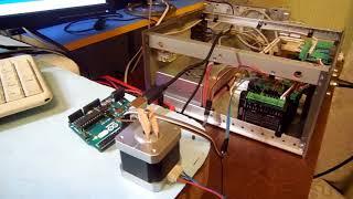 Arduino + step/dir driver + stepper motor