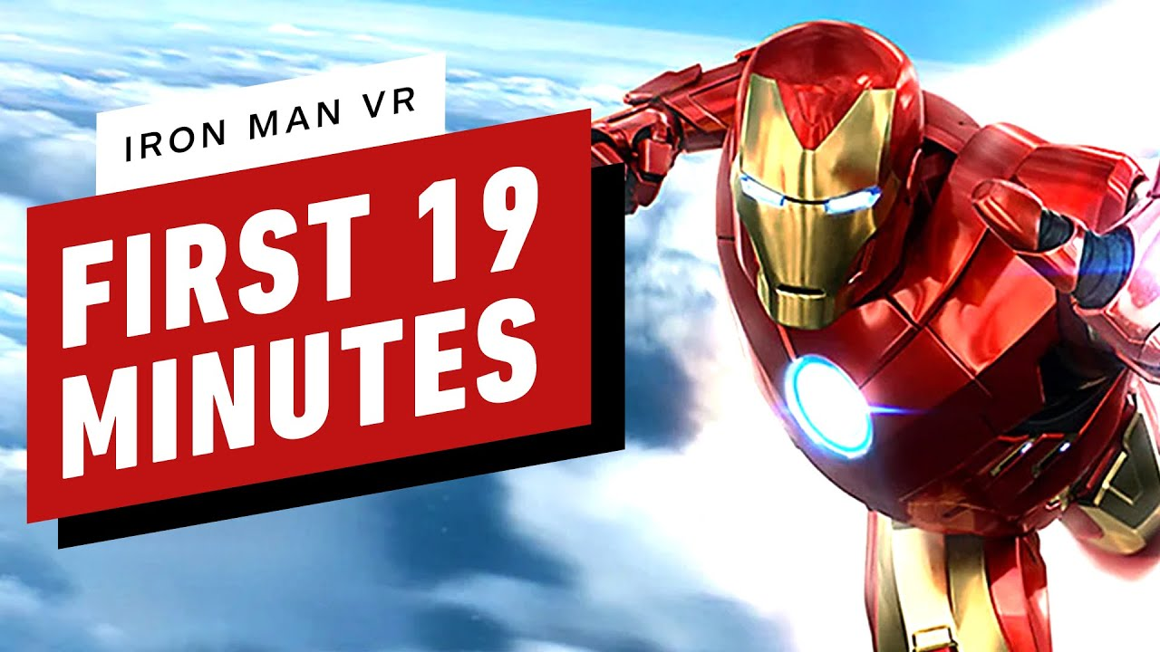 Iron Man VR Demo - The First 19 Minutes of Gameplay - IGN