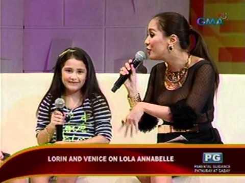 SC: Lorin & Venice Gutirrez Bektas   Live sa Showbiz Central