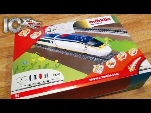 Märklin My World Eurostar Train Starter Set