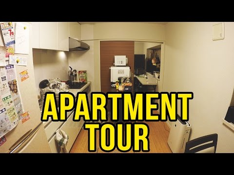 Japanese Apartment Tour & Japan Vending Machines! | VLOG