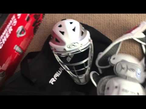 Rawlings Catchers Gear Set Unboxing White