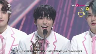 ENG SUB TXT (투모로우바이투게더) win Rookie of the Year (Seoul Music Awards 2020)