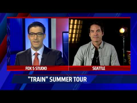 """Chatting with """"Train"""" lead singer Pat Monahan"""
