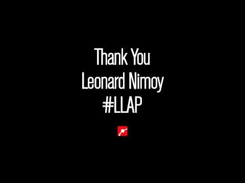 Thank You Leonard Nimoy