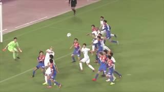 郷家 友太(神戸)が左後方からのFKを頭で叩き込み、試合終了直前に劇的...
