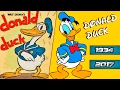 Donald Duck Time Line Evolution | Disney®? 1934 - 2017 Tribute??????   ???????????????????????????
