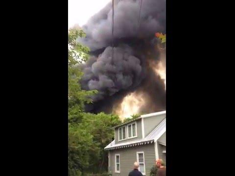 Mill Fire in West Hillsborough 5/20/16