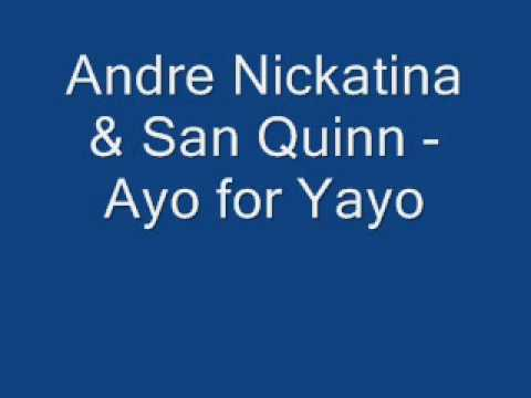 Andre Nickatina - Ayo for Yayo