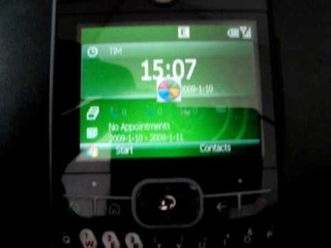 Motorola Moto Q GSM - Windows Mobile 6.1 WM6.1 - Brasil