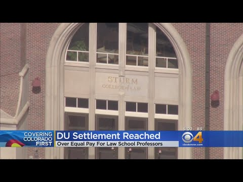 DU Reaches Settlement In Equal Pay Lawsuit