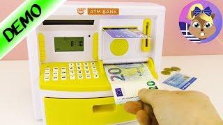Νέο αυτόματο μηχάνημα κουμπαράς με λειτουργία πιστωτικής κάρτας!