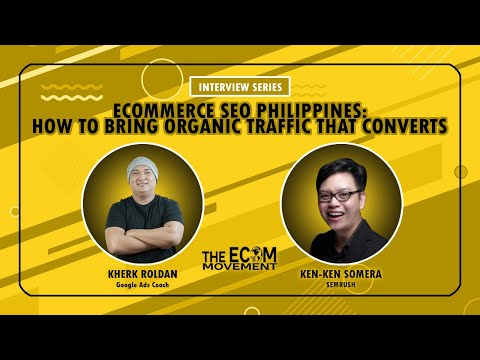 Ecommerce SEO Philippines: How to Bring Organic Traffic That