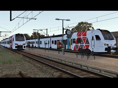 Train Simulator: Altenburg - Wildau with DB (Süwex) FLIRT-3