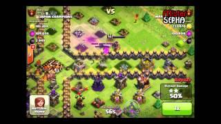 Clash of Clans Champions League aevin vs B