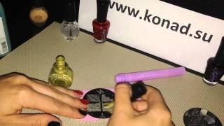konad nail art роспись ногтей хохлома