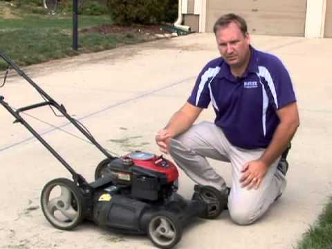 Mow Lawn At Proper Height Youtube