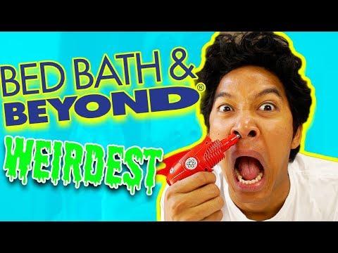 Weirdest Bed Bath Beyond!!!