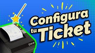 ¿Cómo Configurar Los Tickets? (SICAR Versión 1.8)