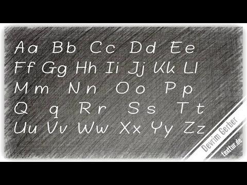 ABC Buchstaben Richtig Lesen: Das Alphabet Plus Doppellaute (ei) Und Besondere Verbindungen.