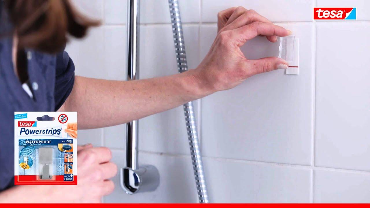 Tesa Powerstrips Waterproof Haken Metall 4042448175243 Youtube