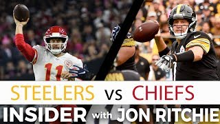 Pittsburgh Steelers vs Kansas City Chiefs NFL Insider with Jon Ritchie