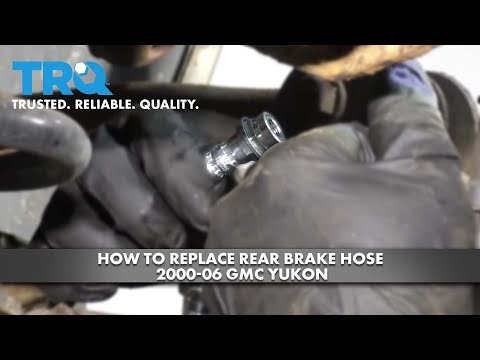 How to Replace Rear Brake Hose 2000-06 GMC Yukon