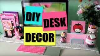 Desk Decor Diy - Pencil Cup, Display Jars + Decor Tips