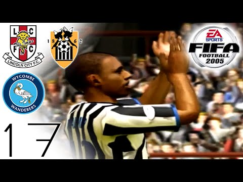 FIFA 2005 Career Mode - Lincoln (H), Notts County (A) & Wycombe (H) - Part 17