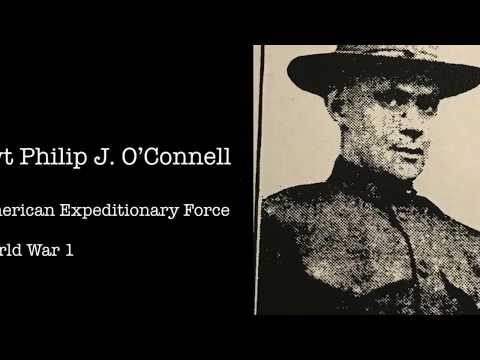 Philip O'Connell, Lawrence WW1P