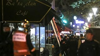 Witnesses caught up in Paris attacks speak of terror