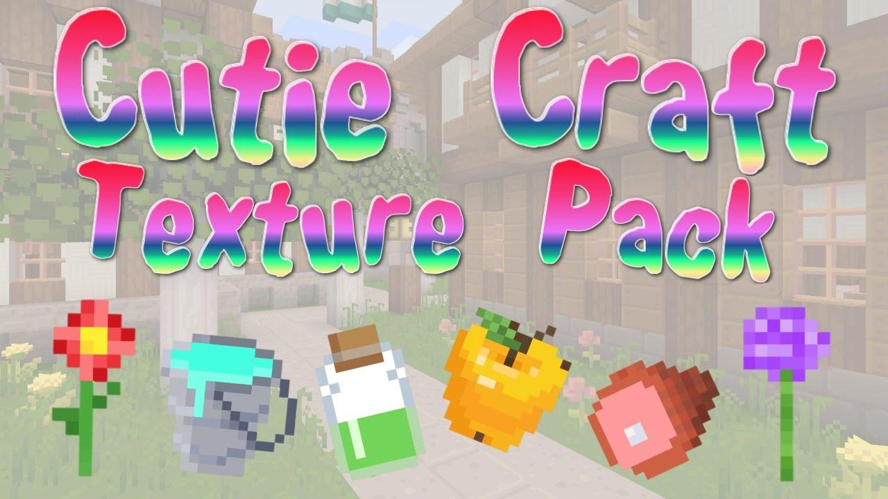 Minecraft Cute Craft Texture Pack