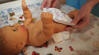 Видеоурок ЦМП Минздрава Омской обл Уход за новорожденным ребенком