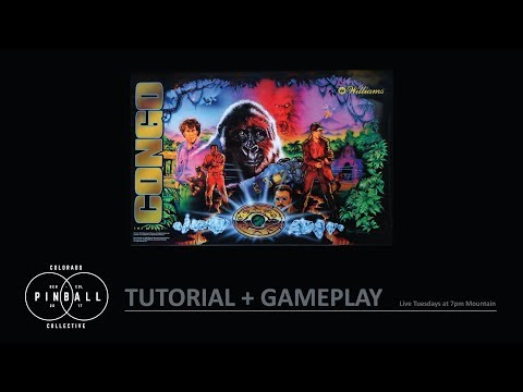Congo Tutorial and Gameplay with Local Collector Steve Johnson