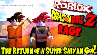 THE RETURN OF A SUPER SAIYAN GOD! | Roblox: Dragon Ball Z RAGE