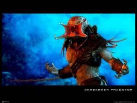 Predator berseker vs wolf predator - YouTube
