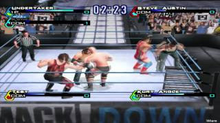 WWF SmackDown Just Bring It Pcsx2 Gameplay