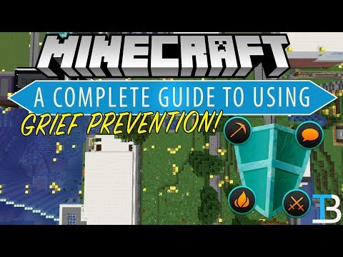 A Complete Guide To GriefPrevention (How To Setup & Use Grief Prevention On A Minecraft Server)
