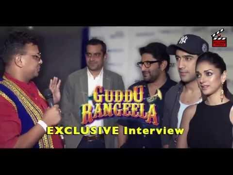 Guddu Rangeela Exclusive Interview | Mata ka Email song | Arshad Warsi | Amit Sadh | Subhash Kapoor