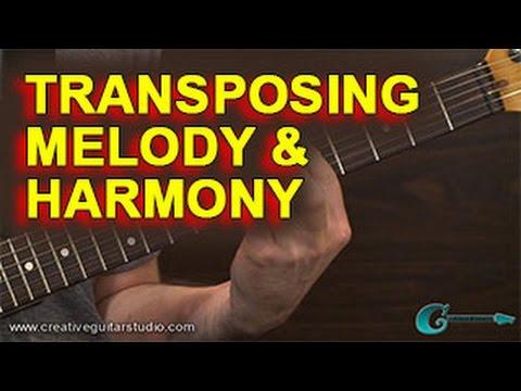 MUSIC THEORY: Transposing Melody & Harmony