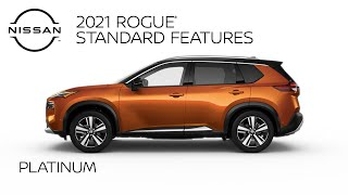 homepage tile video photo for 2021 Nissan Rogue Platinum Walkaround & Review