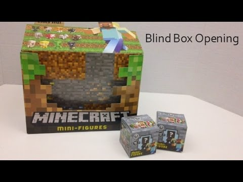 Full Download Spoiler Alert Minecraft Blind Box Opening