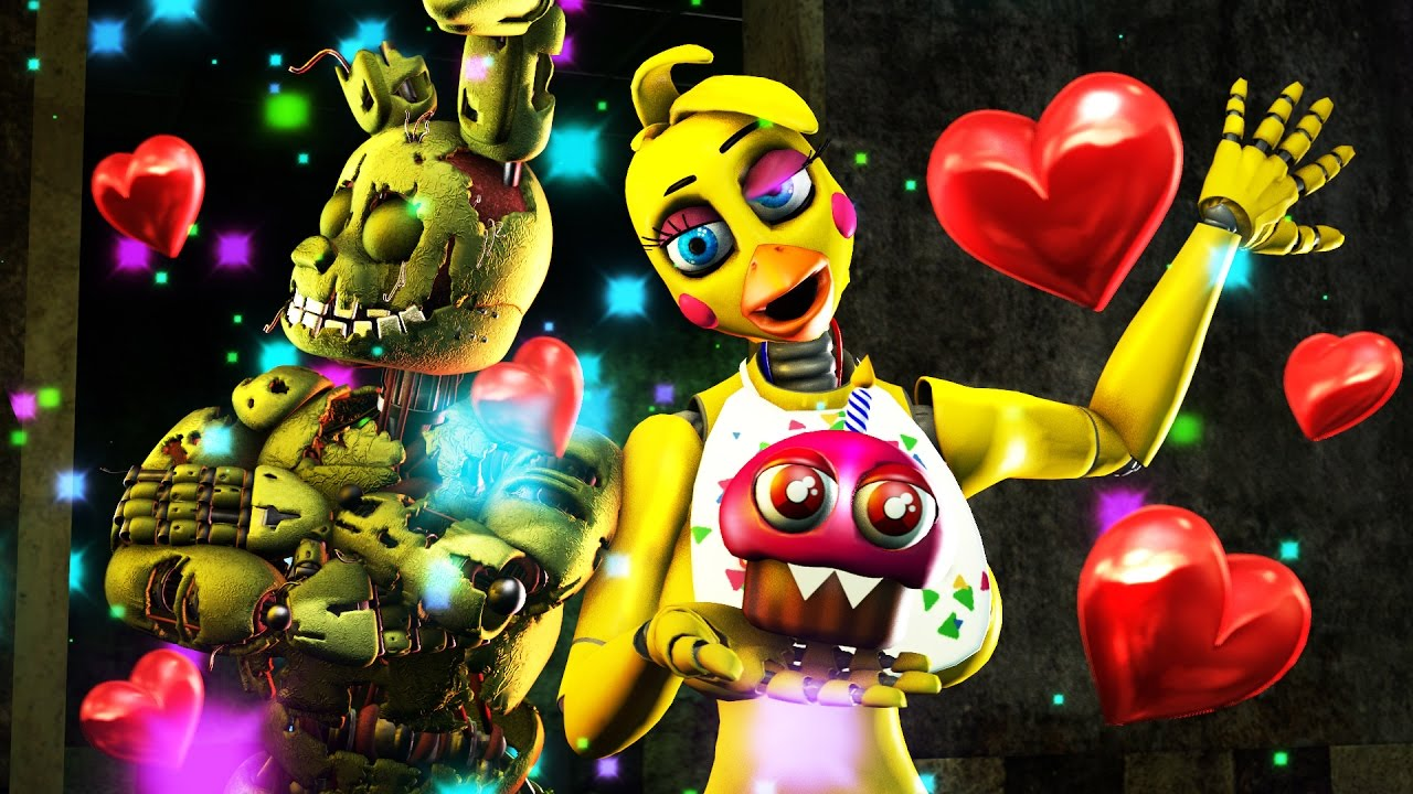 Download SFM FNAF CHICA JUMPLOVE 3 SEXY JUMPSCARE