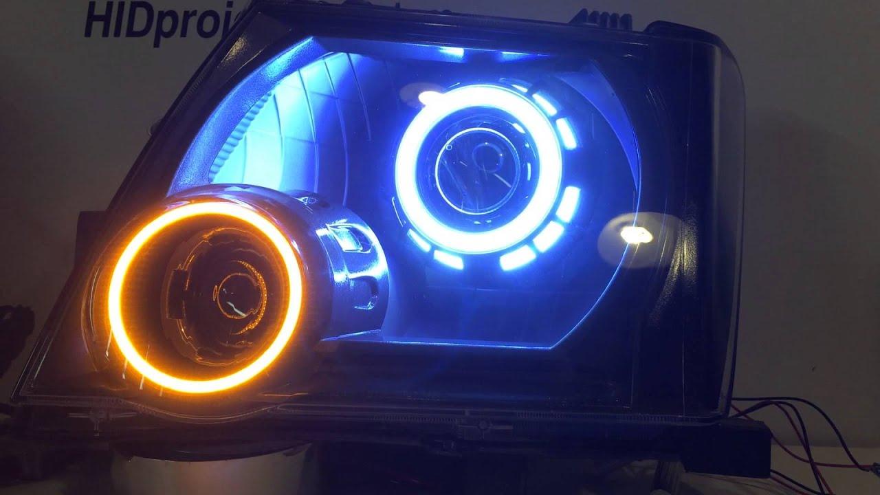 Nissan Xterra Headlight Retrofit Quad Bi Xenon Hid
