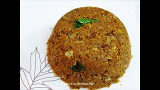 Vazhaipoo Masiyal Recipe - Vazhaipoo Paruppu Usili Recipe - Vazhaipoo Recipe by Healthy Food Kitchen