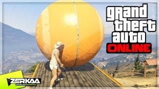 "Gta V Online Funny Moments | ""big Orange Ball"" | E007 (gta 5)"