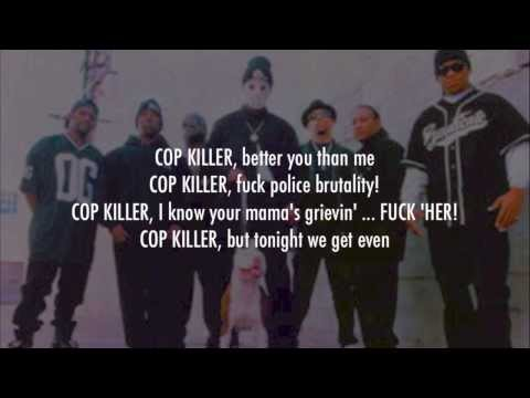 Body Count - Cop Killer (Lyrics Video)